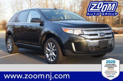 2013 Ford Edge for sale at Zoom Auto Group in Parsippany NJ