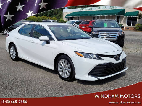 2018 Toyota Camry for sale at Windham Motors in Florence SC