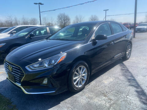 2018 Hyundai Sonata for sale at EAGLE ONE AUTO SALES in Leesburg OH