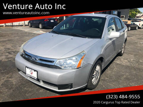 2010 Ford Focus for sale at Venture Auto Inc in South Gate CA