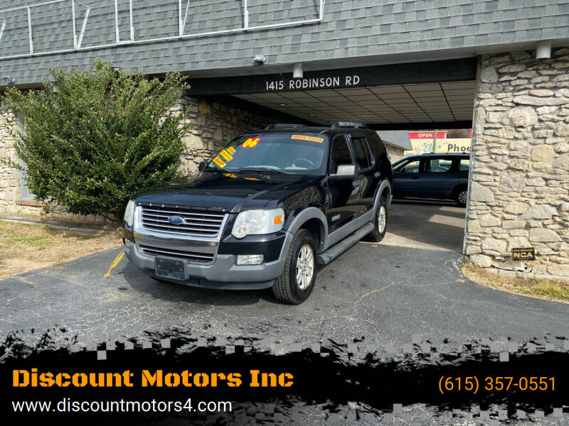 2006 Ford Explorer for sale at Discount Motors Inc in Old Hickory TN