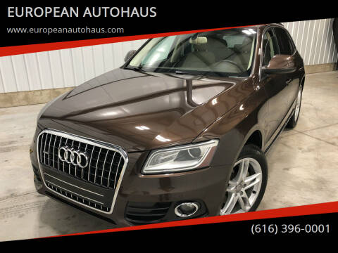 2014 Audi Q5 for sale at EUROPEAN AUTOHAUS in Holland MI