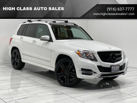 2014 Mercedes-Benz GLK for sale at HIGH CLASS AUTO SALES in Rancho Cordova CA