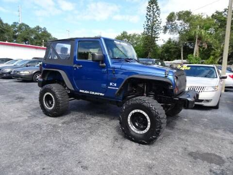 2009 Jeep Wrangler for sale at DONNY MILLS AUTO SALES in Largo FL
