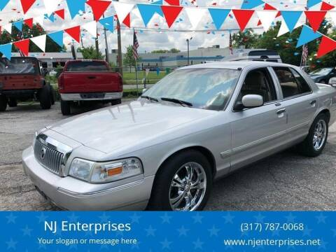 2007 Mercury Grand Marquis for sale at NJ Enterprises in Indianapolis IN