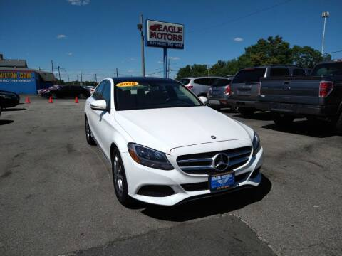 2016 Mercedes-Benz C-Class for sale at Eagle Motors in Hamilton OH