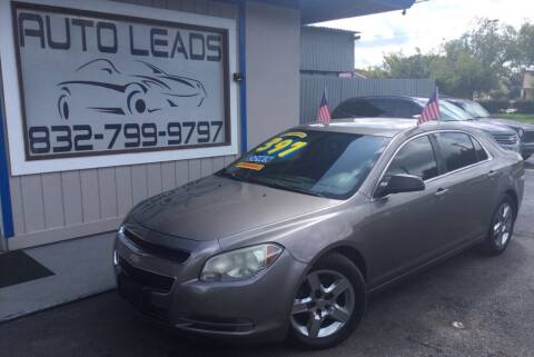 2012 Chevrolet Malibu for sale at AUTO LEADS in Pasadena TX