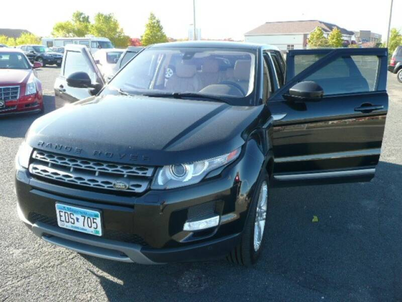 2014 Land Rover Range Rover Evoque for sale at Prospect Auto Sales in Osseo MN
