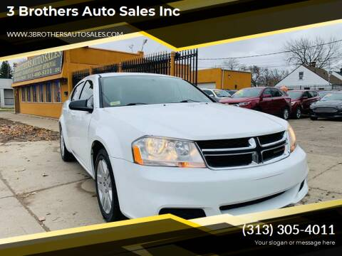 2014 Dodge Avenger for sale at 3 Brothers Auto Sales Inc in Detroit MI
