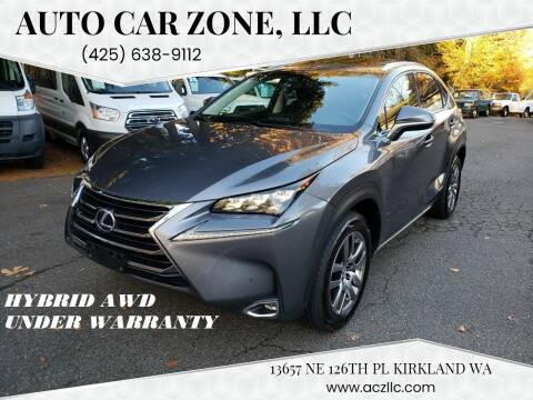 2016 Lexus NX 300h for sale at Auto Car Zone, LLC in Kirkland WA