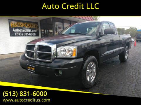 2005 Dodge Dakota for sale at Auto Credit LLC in Milford OH