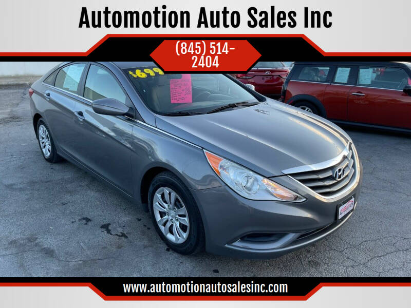 2012 Hyundai Sonata for sale at Automotion Auto Sales Inc in Kingston NY