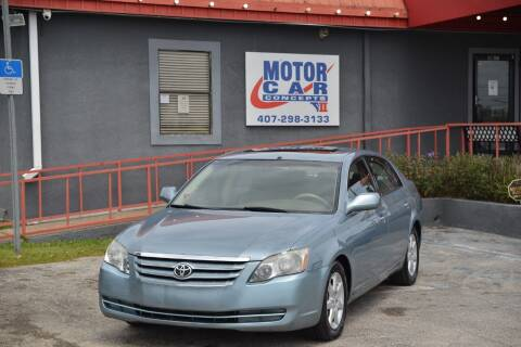 2007 Toyota Avalon for sale at Motor Car Concepts II - Kirkman Location in Orlando FL