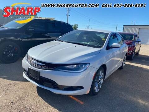 2015 Chrysler 200 for sale at Sharp Automotive in Watertown SD