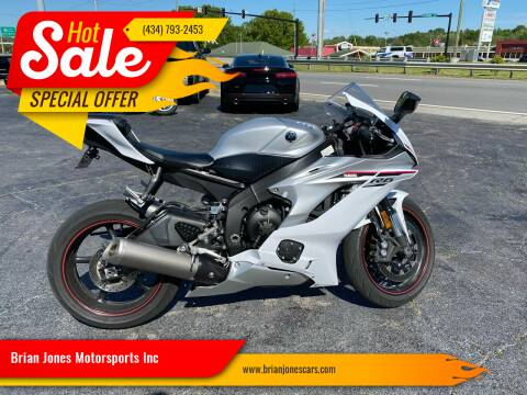 2018 Yamaha YZF-R6 for sale at Brian Jones Motorsports Inc in Danville VA