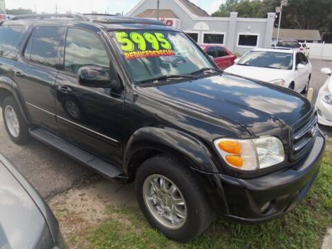 2003 Toyota Sequoia for sale at ORANGE PARK AUTO in Jacksonville FL