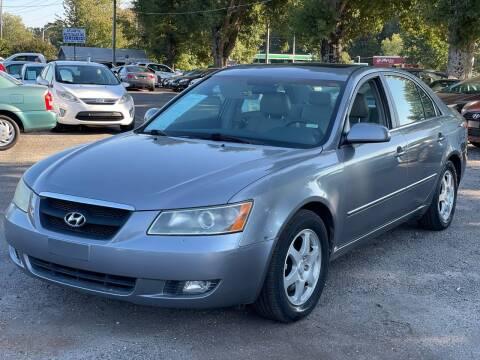 2006 Hyundai Sonata for sale at Atlantic Auto Sales in Garner NC