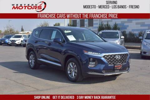 2019 Hyundai Santa Fe for sale at Choice Motors in Merced CA