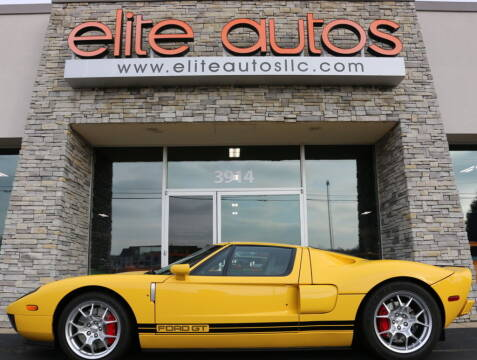 2006 Ford GT for sale at Elite Autos LLC in Jonesboro AR
