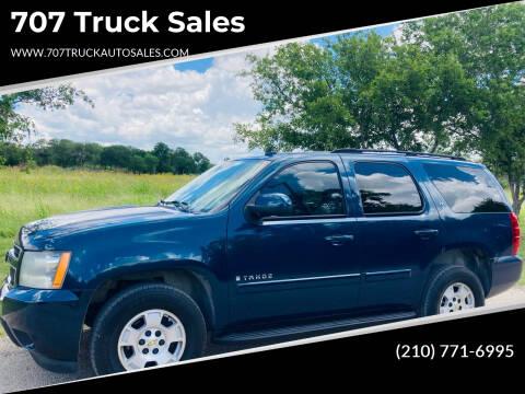 2007 Chevrolet Tahoe for sale at 707 Truck Sales in San Antonio TX