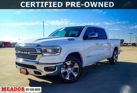 2020 RAM Ram Pickup 1500 for sale at Meador Dodge Chrysler Jeep RAM in Fort Worth TX