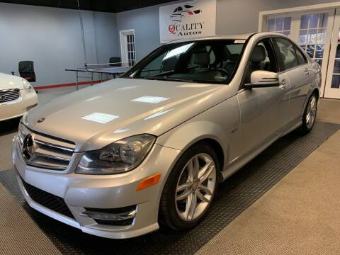2012 Mercedes-Benz C-Class for sale at Quality Autos in Marietta GA