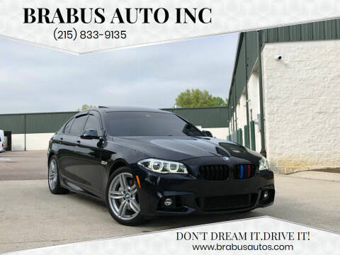 2014 BMW 5 Series for sale at Car Time in Philadelphia PA