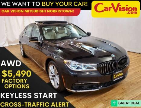 2018 BMW 7 Series for sale at Car Vision Mitsubishi Norristown in Trooper PA