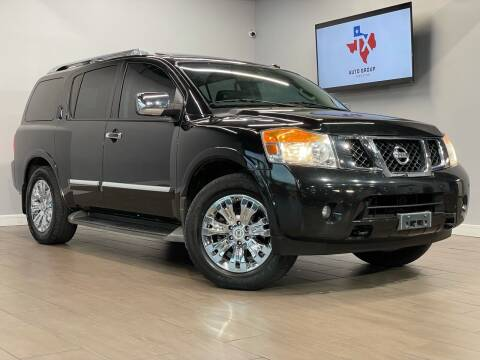 2015 Nissan Armada for sale at TX Auto Group in Houston TX