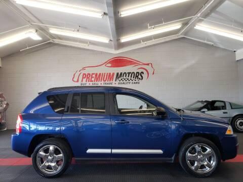 2010 Jeep Compass for sale at Premium Motors in Villa Park IL