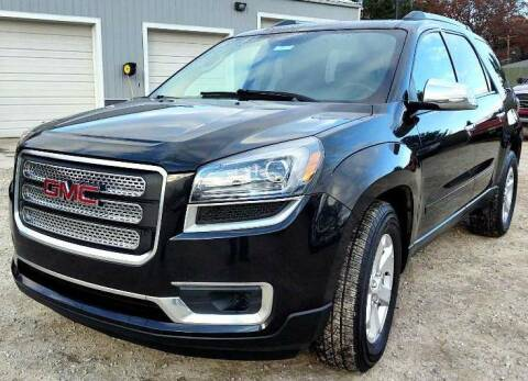 2014 GMC Acadia for sale at Hilltop Auto in Prescott MI