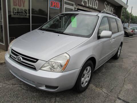 2007 Kia Sedona for sale at Arko Auto Sales in Eastlake OH