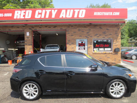 2013 Lexus CT 200h for sale at Red City  Auto in Omaha NE