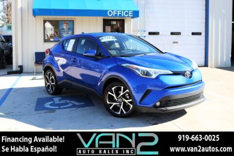 2018 Toyota C-HR for sale at Van 2 Auto Sales Inc in Siler City NC