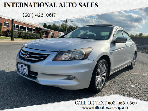 2012 Honda Accord for sale at International Auto Sales in Hasbrouck Heights NJ
