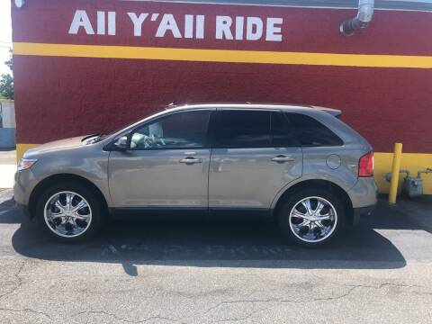 2012 Ford Edge for sale at Big Daddy's Auto in Winston-Salem NC