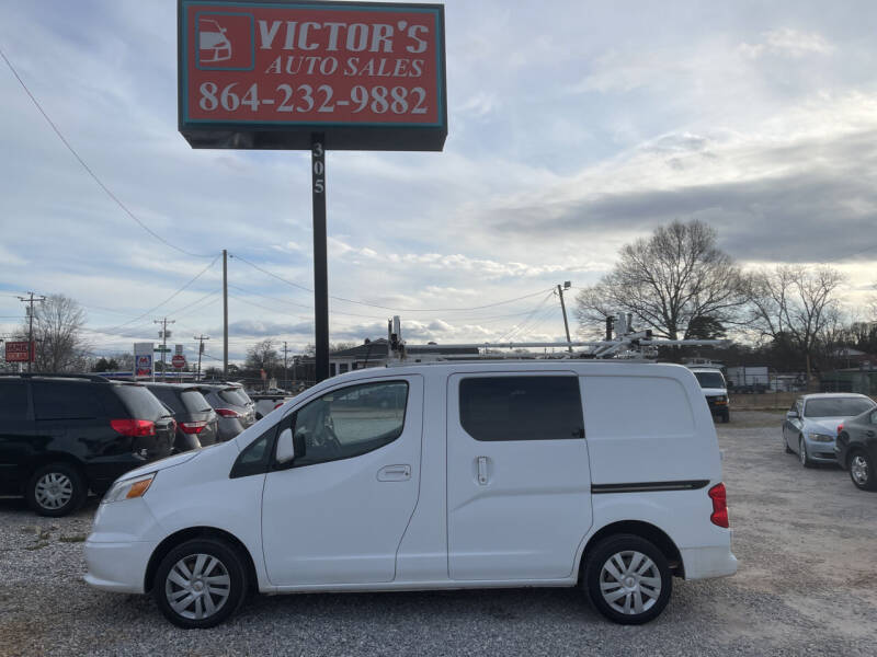 2015 Chevrolet City Express Cargo for sale at Victor's Auto Sales in Greenville SC