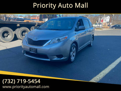 2011 Toyota Sienna for sale at Mr. Minivans Auto Sales - Priority Auto Mall in Lakewood NJ
