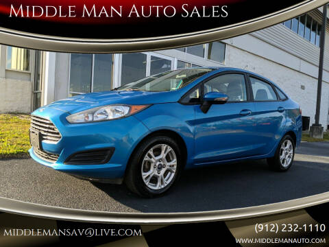 2016 Ford Fiesta for sale at Middle Man Auto Sales in Savannah GA