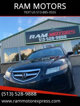 2006 Acura TL for sale at RAM MOTORS in Cincinnati OH