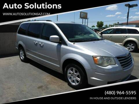 2010 Chrysler Town and Country for sale at Auto Solutions in Mesa AZ