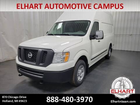 2021 Nissan NV Cargo for sale at Elhart Automotive Campus in Holland MI