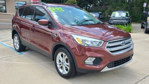 2018 Ford Escape for sale at Dunn-Rite Auto Group in Longwood FL
