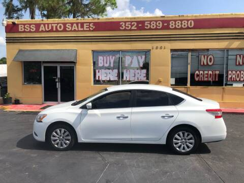 2014 Nissan Sentra for sale at BSS AUTO SALES INC in Eustis FL