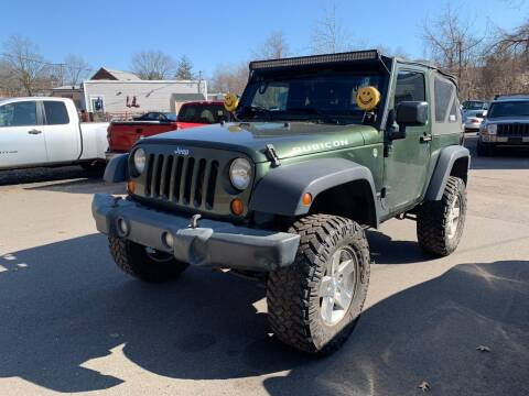 2007 Jeep Wrangler for sale at Manchester Auto Sales in Manchester CT