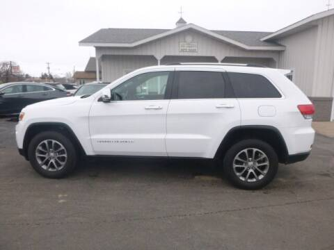 2016 Jeep Grand Cherokee for sale at JIM WOESTE AUTO SALES & SVC in Long Prairie MN