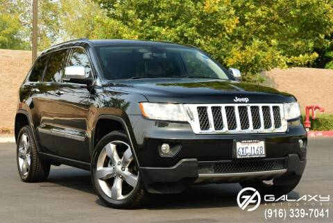 2013 Jeep Grand Cherokee for sale at Galaxy Autosport in Sacramento CA