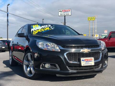 2014 Chevrolet Malibu for sale at Mid Valley Motors in La Feria TX