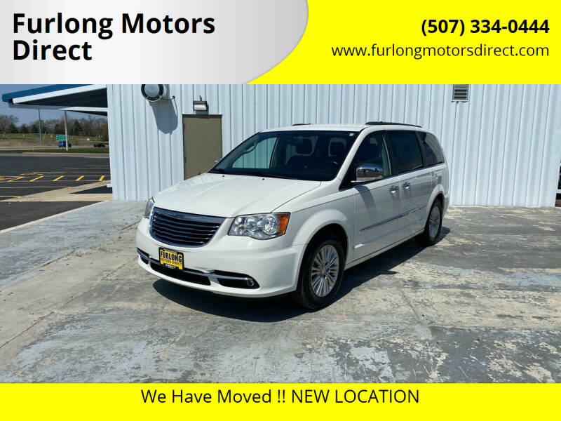 2013 Chrysler Town and Country for sale at Furlong Motors Direct in Faribault MN