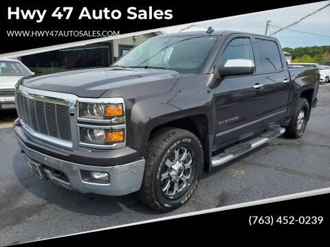 2014 Chevrolet Silverado 1500 for sale at Hwy 47 Auto Sales in Saint Francis MN